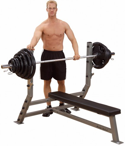 Body Solid Deluxe 2x3 Flat Bench