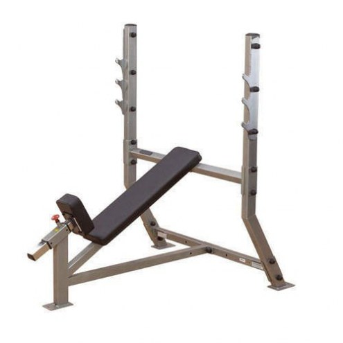 Body Solid Deluxe 2x3 Flat/Incline Bench