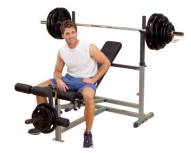 Body Solid GDIB46L PowerCenter Combo Weight Bench