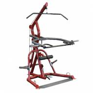 Body Solid GLGS100 Classic Series Corner Leverage Gym with Aircraft Grade Cables and Nylon