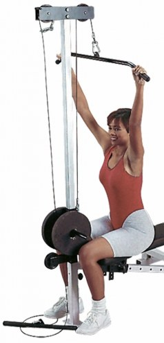 Body Solid Lat Pull Down/Seated Row Attachment