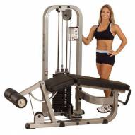 Body Solid Leg Curl Machine with 210 lb. Weight Stack