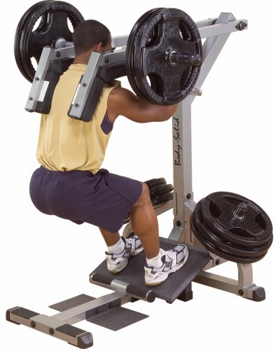 Body Solid Leverage Squat/Calf Machine