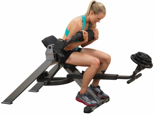 Body Solid Semi-Recumbent Dual Ab Bench
