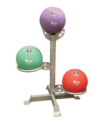 Body Solid 3 Medicine Ball Rack