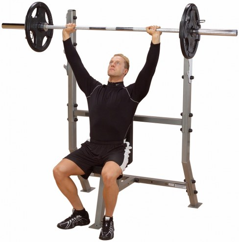 Body Solid Olympic Shoulder Press Bench