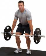 Body Solid Olympic Shrug Bar