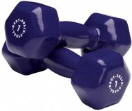 Body Solid 7 lb Vinyl Dumbbell Pair