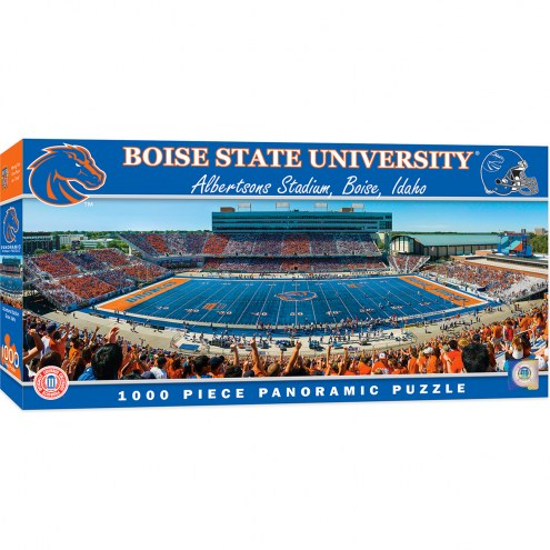 Boise State Broncos 1000 Piece Panoramic Puzzle