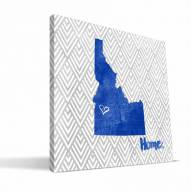 "Boise State Broncos 12"" x 12"" Home Canvas Print"