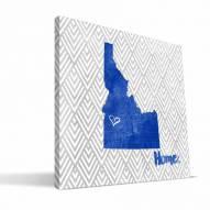 "Boise State Broncos 12"" x 12"" Home Canvas Print"