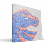 "Boise State Broncos 16"" x 16"" Typo Canvas Print"