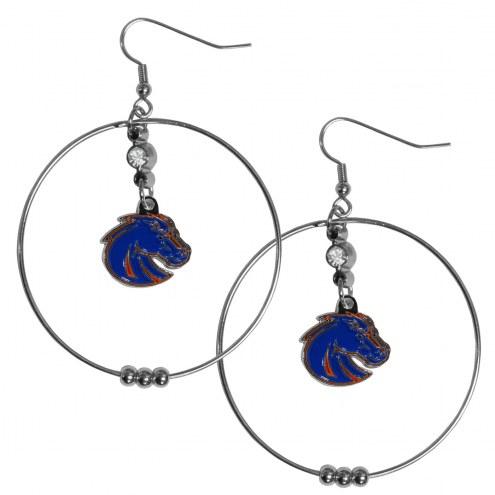 """Boise State Broncos 2"""" Hoop Earrings"""
