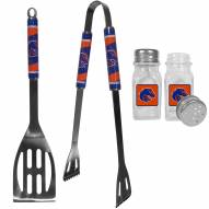 Boise State Broncos 2 Piece BBQ Set with Salt & Pepper Shakers