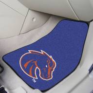 Boise State Broncos 2-Piece Carpet Car Mats