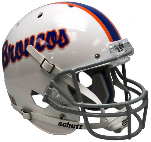 Boise State Broncos Alternate 13 Schutt XP Authentic Full Size Football Helmet