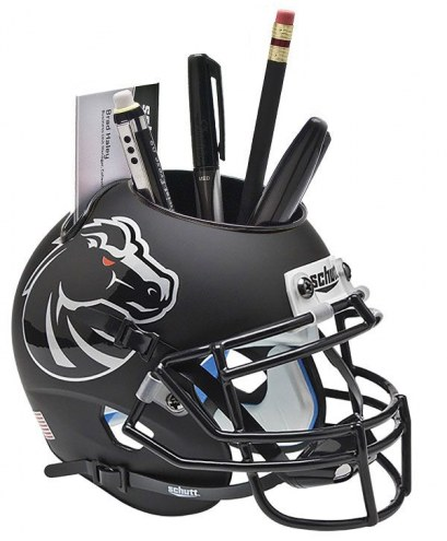 Boise State Broncos Alternate 4 Schutt Football Helmet Desk Caddy