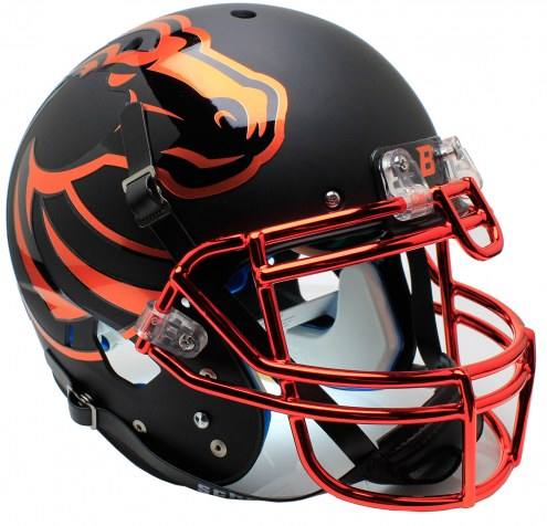 Boise State Broncos Alternate 7 Schutt XP Authentic Full Size Football Helmet