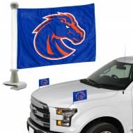 Boise State Broncos Ambassador Hood & Trunk Car Flag