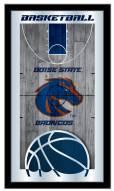 Boise State Broncos Basketball Mirror