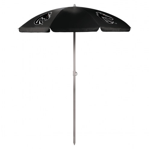 Boise State Broncos Black Beach Umbrella