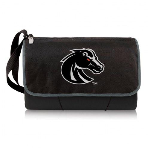 Boise State Broncos Black Blanket Tote