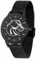 Boise State Broncos Black Dial Mesh Statement Watch