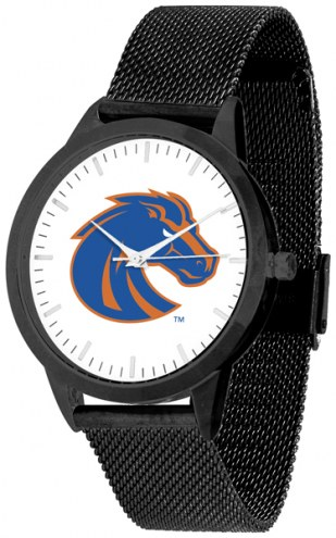Boise State Broncos Black Mesh Statement Watch