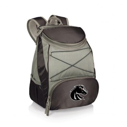 Boise State Broncos Black PTX Backpack Cooler