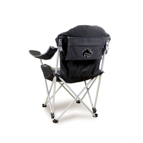 Boise State Broncos Black Reclining Camp Chair