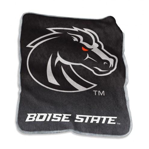 Boise State Broncos Raschel Throw Blanket