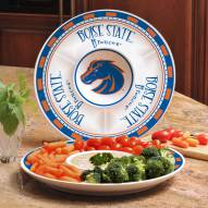 Boise State Broncos Ceramic Chip and Dip Serving Dish