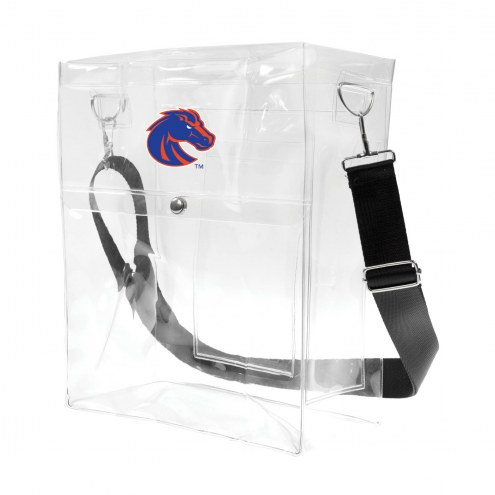 Boise State Broncos Clear Ticket Satchel