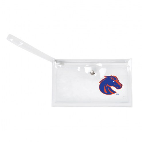 Boise State Broncos Clear Ticket Wristlet