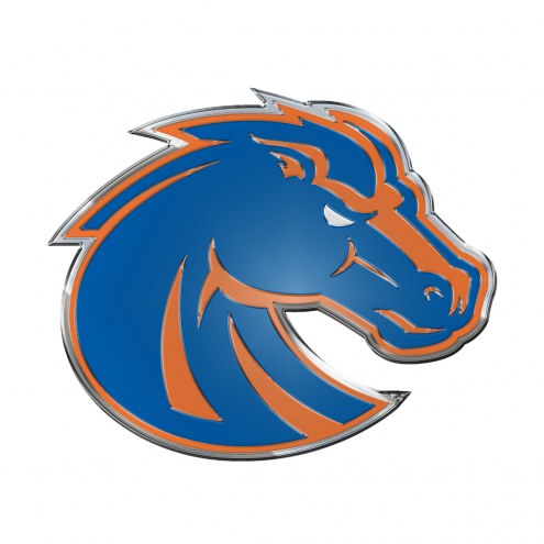Boise State Broncos Color Car Emblem