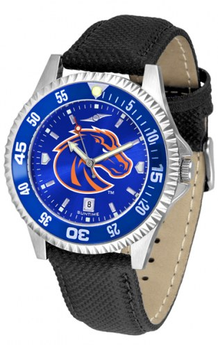 Boise State Broncos Competitor AnoChrome Men's Watch - Color Bezel