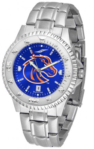 Boise State Broncos Competitor Steel AnoChrome Men's Watch