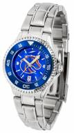 Boise State Broncos Competitor Steel AnoChrome Women's Watch - Color Bezel