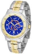 Boise State Broncos Competitor Two-Tone AnoChrome Men's Watch