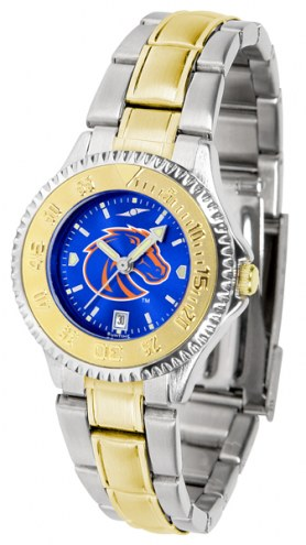 Boise State Broncos Competitor Two-Tone AnoChrome Women's Watch
