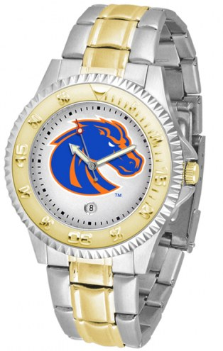 Boise State Broncos Competitor Two-Tone Men's Watch