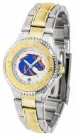 Boise State Broncos Competitor Two-Tone Women's Watch