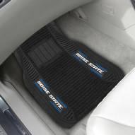 Boise State Broncos Deluxe Car Floor Mat Set