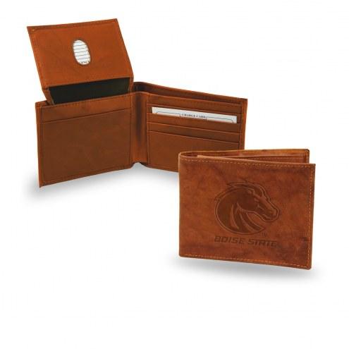 Boise State Broncos Embossed Bi-Fold Wallet