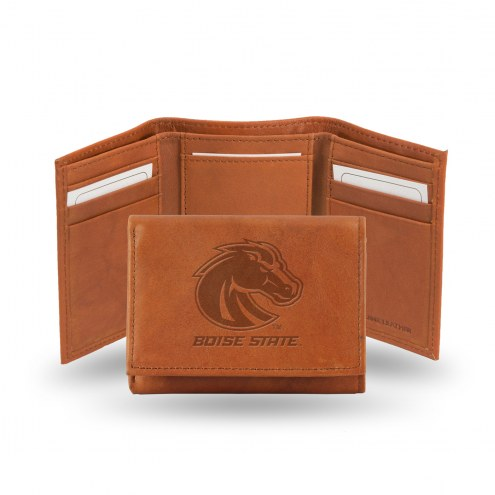 Boise State Broncos Embossed Tri-Fold Wallet
