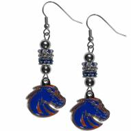 Boise State Broncos Euro Bead Earrings