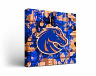 Boise State Broncos Fight Song Canvas Wall Art
