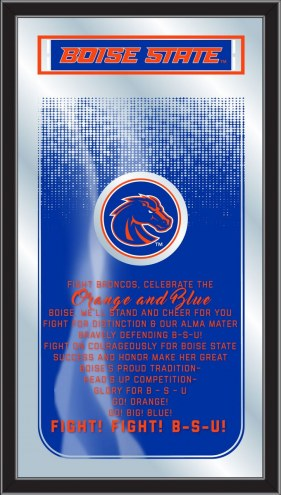 Boise State Broncos Fight Song Mirror