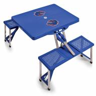 Boise State Broncos Folding Picnic Table