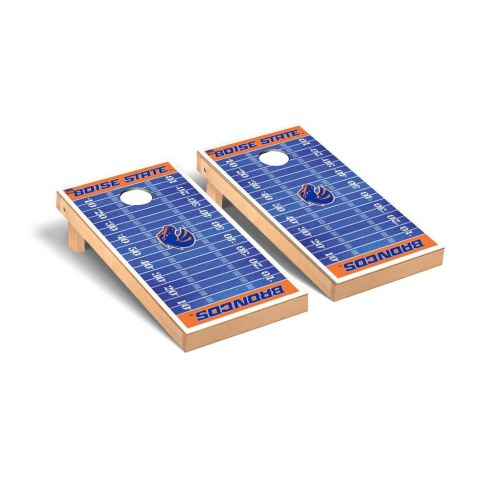Boise State Broncos Football Field Cornhole Game Set